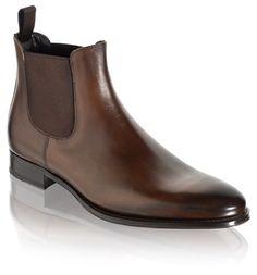 To Boot New York: Men's Toby Boots in Dark Brown
