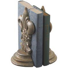Fleur de Lis Bookend - So need these!