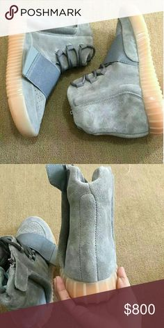 55e3c0cee633a Adidas Yeezy 750 Light Grey BB1840 s Yeezy Shoes Boots Yeezy 750