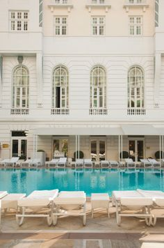Swim in Rio's most attractive pool at Belmond Copacabana Palace.