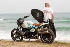Surfboard-Carrying Motorcycles : BMW Motorcycle