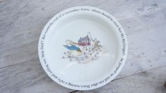 Wedgwood Peter Rabbit Beatrix Potter Bowl by SycamoreVintage, $24.00