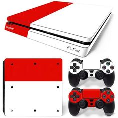 2 Controller Skins Ps4_03 Dynamic Iron M Sticker Skin For Playstation 4 Ps4 Console Video Games & Consoles