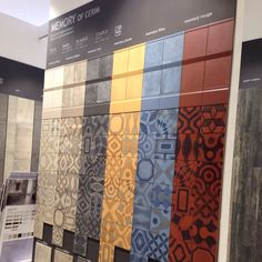 MEMORY OF CERIM _ Florim booth L11063 hall s1 COVERINGS 2014 - LAS VEGAS #tile #florim #usa #lasvegas #vegas #event #coverings #coverings2014 #coverings25 #tiles #italian #architecture #architect #interiordesign #design #homedecor #nevada