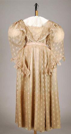 Silk Bridesmaid Dress, USA, c 1835