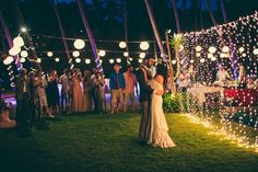 Among the countless details that go into wedding planning is a couple's first dance. First dances can be tender (some couples want to stick to the traditional first-dance songs and enjoy an intimate moment together), but they can also be energetic and full of fancy choreography or silly dance