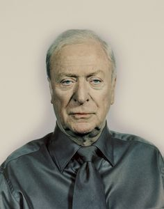 Michael Caine by Nadav Kander