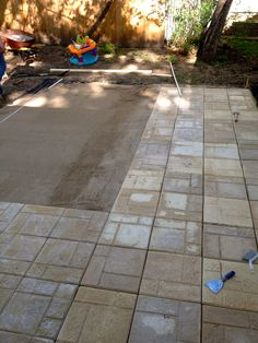 Bring On The Yardwork  Part 1, Installing A Paver Patio Part 65
