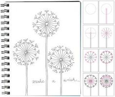 How to Draw a Dandelion!