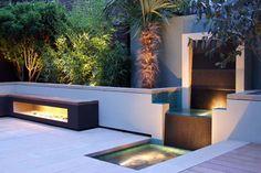 london contemporary garden planting design