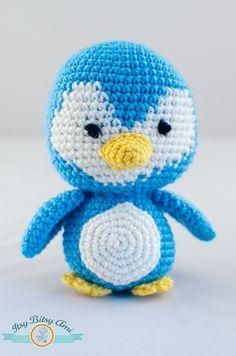 Animal Party  Penguin  Amigurumi  Crochet
