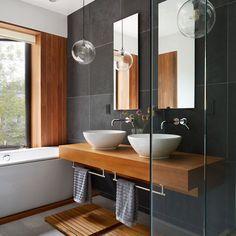 Bathroom shade scheme