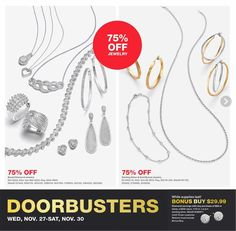 Macys Black Friday 2019 Ads and Deals Browse the Macys Black Friday 2019 ad scan and the complete product by product sales listing. Silver Ankle Bracelet, Ankle Bracelets, Sterling Silver Bracelets, Macys Black Friday, Black Friday Ads, Friday News, Baguette Diamond, Gold Studs, Diamond Pendant