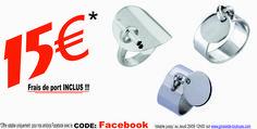 """Avec le code: """" Facebook """" sur http://www.grossiste-toulouse.com/fr/672-offres-facebook,  Bénéficiez de la Collection Pampille Acier à PRIX CASSES !!!  Offre valable jusqu'au 29/09, FDP Offerts."""