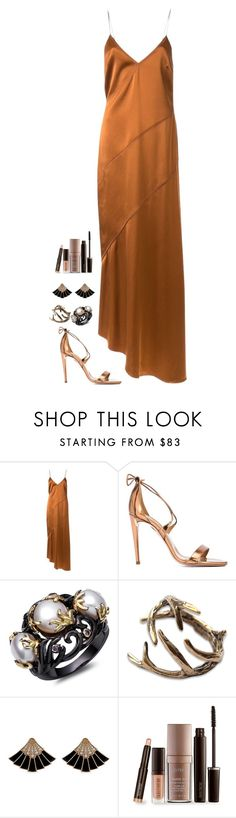 """""""Untitled #1013"""" by h1234l on Polyvore featuring Manning Cartell, Aquazzura and Laura Mercier"""