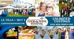 Junior League of San Diego Food and Wine Festival...who doesn't want unlimited wine tastings?!
