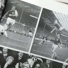 A commemorative West Ham book filled with famous pictures of West Ham players in action from throughout the twentieth century. The photos themselves have been taken by some of the world's most famous sports photographers who were there to capture the action first hand. This compilation of West Ham photography makes the ultimate piece of West Ham memorabilia for fans to enjoy! #WestHam #FootballHistory #Hammers