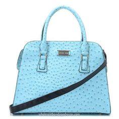 1dcc7a0b0f0a Michael Kors Handbags MK 35 Series Satchels Briefcase Light Blue  WBMKHB150422 Chanel Handbags