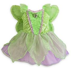 Disney Fairy Costume for Baby | Disney StoreDisney Fairy Costume for Baby - Your little fairy will get her wings with this pixie perfect costume. Glittering petals circle the waist while the back features attached wings so she can let her imagination fly away with her on trips to Pixie Hollow.