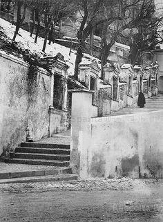 Gianicolo – La Via Crucis, da via Garibaldi a San Pietro in Montorio Anno: 24 Gennaio 1891