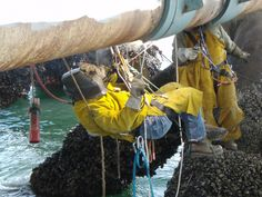 rope access welding offshore