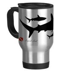 Shop Grey Reef Shark - Travel Mug created by liquidsoul. Medical Careers, Medical Symbols, Nurse Mugs, Rn Nurse, Custom Travel Mugs, Reef Shark, Travel Nursing, Photo Mugs, Nurses