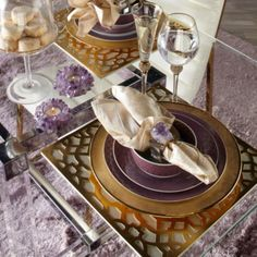 Monaco Placemat - Set of 4 from Z Gallerie