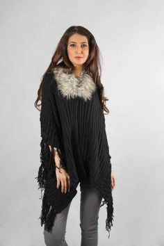 c42c3ce949aef best black wool latest winter sweater designs 2017 for pakistani girls  Pakistani Girl