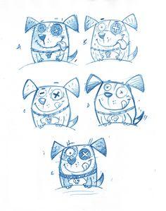 Behance :: Voodoo Pets by Steve Simpson