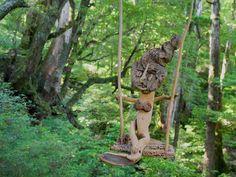 流木の魂 森に帰る-11  ★  #流木オブジェ #流木 #流木アート #屋久島アート #インテリア #Driftwood Art #Interior