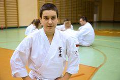 Egzamin Jakuba Karate, Coat, Sports, Jackets, Fashion, Hs Sports, Down Jackets, Moda, Fashion Styles