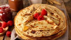 Homemade Crepes, Chocolate Chip Bread, Holiday Snacks, Glass Baking Dish, Protein Foods, Protein Recipes, A Food, Food Processor Recipes, Cravings
