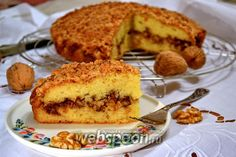 Фото Ореховый пирог