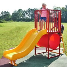 Playground Flooring, Park Playground, Mom's Day Out, Fun Tube, Noah's Park, Outdoor Fun For Kids, Plastic Components, Stair Steps, Blow Molding