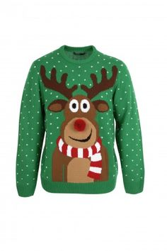 PRshots.com :: Christmas Jumpers Reindeer Christmas Jumper | Dunnes Stores