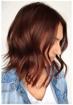 Short Auburn Hair, Auburn Hair Dye, Brown Auburn Hair, Dark Auburn Hair Color, Red Brown Hair Color, Auburn Balayage, Burgundy Hair, Brownish Red Hair, Brown Hair Dyed Red