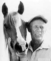 Walter Farley, author of the Black Stallion series of books. God, I still love that book. Read every single book as a kid and saw the movie that started my want for a horse.