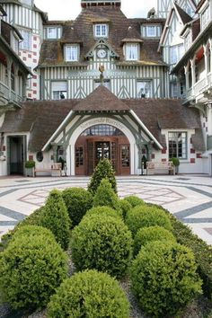 Hotel Normandy - Normandie - Deauville - France - My mom, dad, and I stayed here while Dave & his mom went to Lourdes (August 1977)