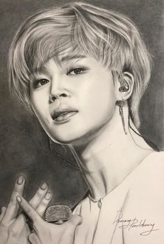 Jimin Fanart, Kpop Fanart, Look Wallpaper, Bts Wallpaper, Pencil Sketch Drawing, Kpop Drawings, Cosplay Anime, Artist Sketchbook, Bts Chibi