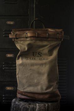 Vintage mail bag