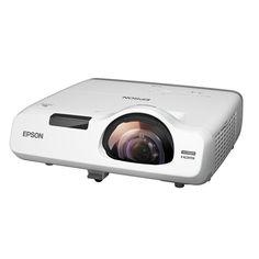 Máy chiếu siêu gần Epson EB-535W cho văn phòng vừa và nhỏ. Máy chiếu Epson EB-535W có độ phân giải HD 720p, độ sáng 3400 Ansi lumen, bóng đèn 10000 giờ