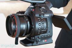 Canon Cinema EOS C100 hands-on - Engadget Galleries