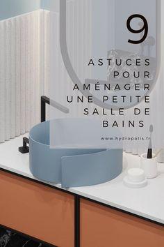 Vous avez une petite salle de bains à aménager ? Pas de panique ! Hydropolis a une solution. Il faut savoir ruser et optimiser l'espace mais vous allez découvrir de nombreuses solutions qui vous rendront la vie plus belle et votre salle de bains plus grande ! Plus Belle, Solution, Motifs, Designers, Wellness, Inspiration, Home Decor, Style, Dream Shower