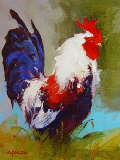 Google Image Result for http://artpostgallery.com/painting-details/traditional/Charles---Barnyard-Rooster-I---16x12-(unf).jpg