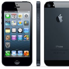 Apple iPhone 5 16GB Mobile Smartphone  unlocked black/white #Apple #Smartphone