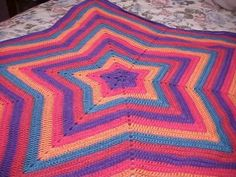 Star Baby Afghan Crochet Pattern | ... Inn and Suites Zoo / Sea World | crochet star afghan pattern Hotel