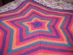 Crochet: star blanket