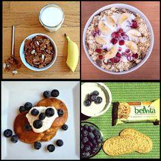 2013-08-25-hiprobreakfasts.jpg Julie Upton One week worth of healthy breakfast options