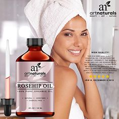 ArtNaturals-Rosehip-Oil-100-Certified-Organic-Pure-Virgin-Cold-Pressed-Unrefined-4oz-Best-Natural-moisturizer-to-heal-Dry-Skin-Fine-Lines-Scars-Rose-hip-Seed-Oil-For-Hair-Face-Skin-0-0