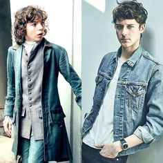 César Domboy – Cast As Adult Fergus In Outlander